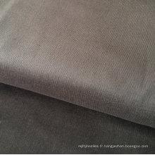 Tissu extensible gris foncé