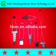 raccords de puissance électrique / isolation coin pince de fil