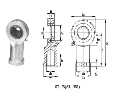 Rod Ends Bearings SI-ES Series