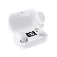 Auricular inalámbrico con banda para el cuello con Bluetooth