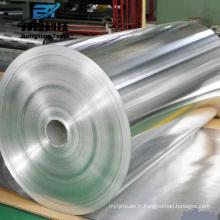 Feuille d'aluminium enduite colorée de haute qualité pour le service de traitement en aluminium de récipient de nourriture ali china avec le prix bas
