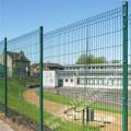 Powder Coating Square Post Metal Fence