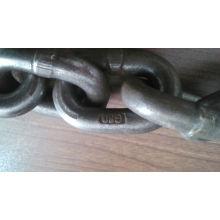 Precio del fabricante Rigging En818-2 G80 G100 Aleación de acero de elevación Enlace de cadena