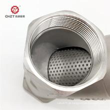 Filtros Y de aço inoxidável para fluido