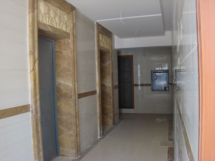 embellecedor aluminio metal pared borde teja