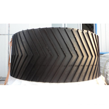 Particularly Patterned Conveyor Belt Chevron
