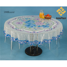 Independent Design Transparent PVC Round Table Cover