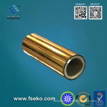 Película de laminación térmica metalizada dorada 24mic