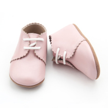 Lovely Pink niños Oxford Casual Shoes
