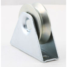 White Plated Trapezoidal Triangular Pulley