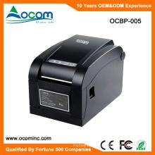 OCBP-005 Mejor precio Puerto de USB serie LAN etiqueta impresora de código de barras