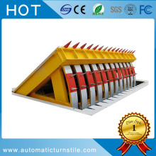 Security traffic barrier portable removable road blocker