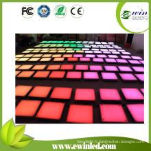 Carreaux de sol de danse de LED gâchés de RVB