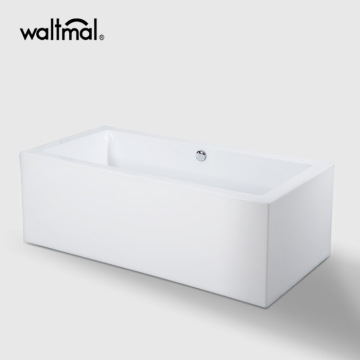 Square Standing Free Standing Bath