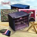 Tampa de gaiola de animal de estimação impermeável macio dobrável para tampa de gaiola de canil de cão de caixa de arame
