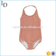 Poliamida de traje de baño de impresión de pantalla personalizada con ropa de playa de spandex