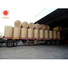 papel de jornal de alta luminosidade 45 g / m² - 52 g / m2 em bobinas de folhas