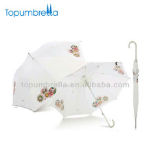 23''8ribs Auto open fancy print wedding Staight umbrellas in china