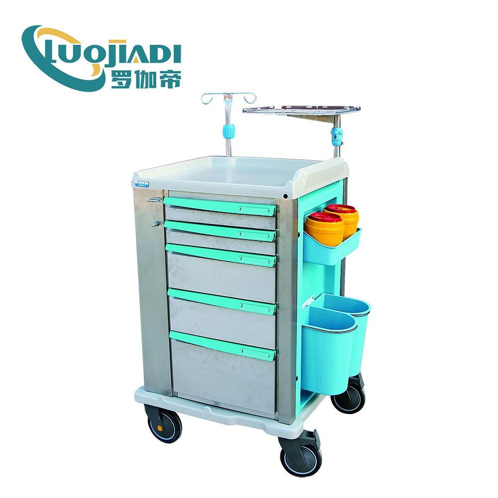 Hospital Bed Emergency Trolley