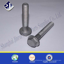 hex flange bolt hot dip galvanizing 4.8class