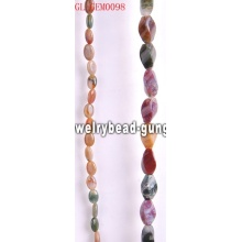 Semiprecious stone Indian agate beads