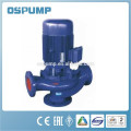 Vertical pipeline self priming drain water pump