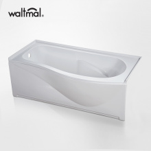 Submerge Built-in Soaking Tub in White