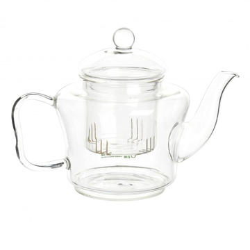 Wholesale Discount for Glass Tea Kettle Mouthblown Pyrex Glass Teapot Flowering Tea Set supply to Madagascar Factory