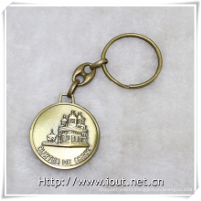 Custom Keychain Metal Buliding Key Ring Manufacturer Key Chain, Key Holder (IO-ck100)