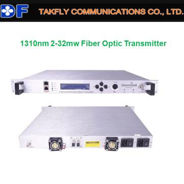 Transmisor de fibra óptica CATV 1310nm 32MW