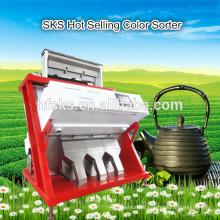 Multifuncional color y máquina de separación de color de la selección de té basado en forma