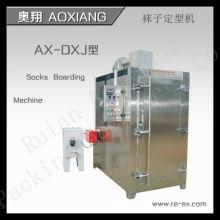 AX-DXJ - Máquina de embarque automática completa de 100 meias a vapor
