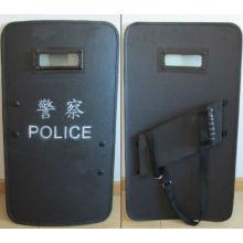 Amplia área de protección Policía, escudo táctico.