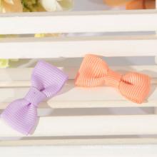 Pre made grosgrain ribbon bow