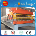 Color Steel Plate Double Layer Roof Panel Roll Forming Machine