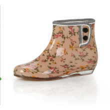 botas de lluvia de neopreno elegantes botas de goma D-625