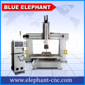 China 3d foam mold woodworking machinery , 5 axis cnc wood carving machine for sale