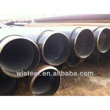 Astm a106 / a53 gr.b sch40 / sch80 tubo de aço galvanizado sem costura