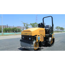 Smooth Steel Wheel Mini Road Roller Compactor