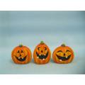 Arts et artisanat en céramique de citrouille d'Halloween (LOE2375-5.5)