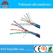 100 Paar Cat5e UTP LAN Kabel Fabrik Kabel Preis CAT6 Voll Kupfer LAN Kabel