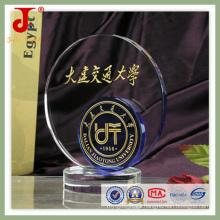 El más nuevo diseño de deportes 3D grabado cristal regalo (JD-CT-415)