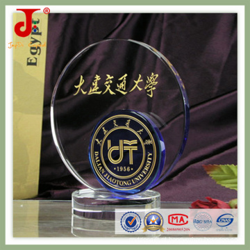Mais novo design de esportes 3D gravura de cristal presente (JD-CT-415)