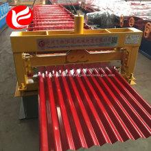 Rodillo laminado en frío panel de techo formando máquina para la venta