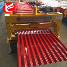 Corrugated cold roof panel rolling roll forming machine for sale