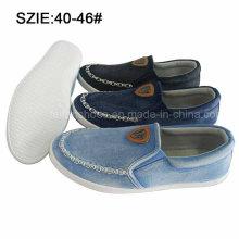 Слип новый стиль моды мужские повседневные туфли Жан обувь (MP16721-9)