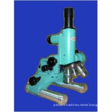 Sm-3 Portable Upright Metallurgraphic Microscope 50x-1000x Microscope Led Lighting