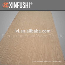 natural oak veneer MDF from China