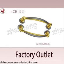 Factory Direct Sale Zinc Alloy Big Pull Archaize Handle (ZH-1311)