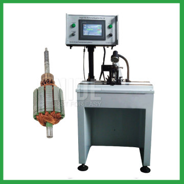 Semi-auto dynamic armature balancing machine